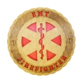 EMT / FIREFIGHTER DESK PLAQUE 5 1/2""